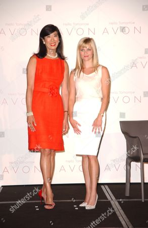 Andrea Jung and Reese Witherspoon
