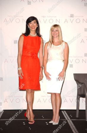 Reese Witherspoon and Andrea Jung