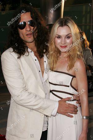 Rachel Miner and boyfriend
