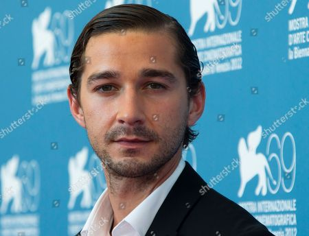 """Shia LaBeouf Actor Shia LaBeouf poses at the 69th edition of the Venice Film Festival in Venice, Italy. LaBeouf debuted his short film, """"Howard Cantour.com,"""" online, but unfortunately failed to credit the source of his idea for the project. LaBeouf's short began to circulate in late 2012 at festivals like Cannes Film Festival and the Cleveland and Seattle International Film Festivals. The short, which stars Jim Gaffigan, examines the life of an anguished online film critic, which stemmed from the concept of a 2007 graphic novella by artist Daniel Clowes titled """"Justin M. Damiano."""" Clowes' tale also depicts the life of a film reviewer. LaBeouf took to Twitter on Monday evening to acknowledge and apologize for plagiarizing Clowes' work. But viewers didn't pinpoint the connection to Clowes' novella until its release online on Monday"""