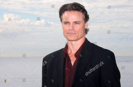 """Canadian actor Dylan Neal poses during a photocall at the 29th MIPCOM (International Film and Programme Market for Tv, Video,Cable and Satellite) in Cannes, southeastern France, . Dylan Neal presents the new series """"Cedar Cove"""" at the MIPCOM 2013"""