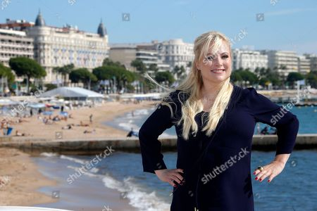 """American columnist, author and blogger Meghan Mccain poses during photocall at the 29th MIPCOM (International Film and Programme Market for Tv, Video,Cable and Satellite) in Cannes, southeastern France, . Meghan Mccain presents at the Mipcom, a genre-busting docu-talk series, """"Raising McCain"""" where she is the host. Meghan Mccain is a daughter of U.S. Senator John McCain and Cindy Hensley McCain"""