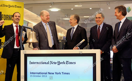 Editorial picture of France NYT Going Global, Paris, France