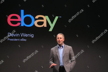 """Devin Wenig,president of eBay marketplaces speaks at a news conference in Berlin,. Online retail platform eBay says it does not share data it collects on its customers with the US. National Security Agency.NSA leaker Edward Snowden has suggested that major web companies have set up systems to help the NSA monitor online communications to protect against terrorism. California-based eBay Inc wasn't named in documents Snowden provided to several newspapers but German privacy commissioner Peter Schaar said last month he was certain that information collected on eBay users ended up with the NSA. The president of eBay Marketplaces, Devin Wenig, said Thursday """"we don't share our customer data"""" and """"we don't believe the NSA has come near our data"""