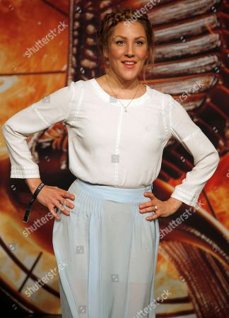 """German actress Nikola Kastner arrives for the Germany premiere of the movie """"The Hunger Games: Catching Fire"""" in Berlin, Germany"""