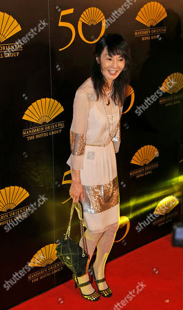 Maggie Cheung Hong Kong actress Maggie Cheung attends the red carpet on the celebrations event of the 50th Anniversary of Mandarin Oriental Hotel in Hong Kong