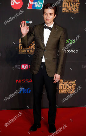 Lee Dong-wook South Korean actor Lee Dong-wook poses for photographers on the red carpet of the Mnet Asian Music Awards in Hong Kong