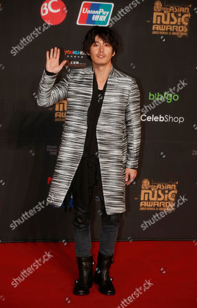 Jang Hyuk South Korean actor Jang Hyuk poses for photographers on the red carpet of the Mnet Asian Music Awards in Hong Kong