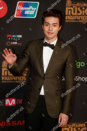 Lee Dong-wook South Korean actor Lee Dong-wook poses for photographers on the red carpet of the Mnet Asian Music Awards (MAMA) in Hong Kong