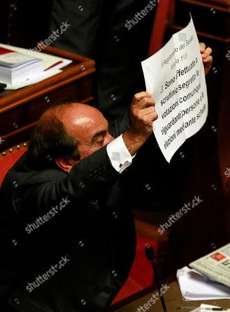 Editorial image of Italy Berlusconi, Rome, Italy