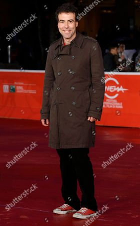Alessio Cremonini Director Alessio Cremonini poses for photographers during the red carpet for the movie 'Border', at the 8th edition of the Rome International Film Festival, in Rome, . (AP Photo
