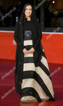 Dana Keilani Actress Dana Keilani poses for photographers during the red carpet for the movie 'Border', at the 8th edition of the Rome International Film Festival, in Rome, . (AP Photo