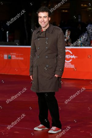 Director Alessio Cremonini poses for photographers during the red carpet for the movie 'Border', at the 8th edition of the Rome International Film Festival, in Rome, . (AP Photo