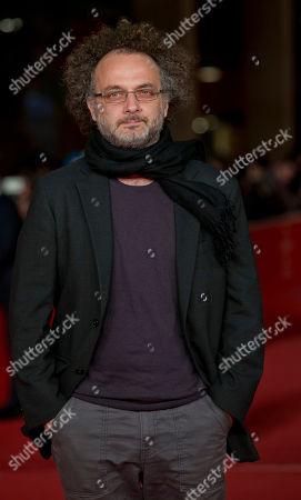 Stock Picture of Antonio Morabito Director Antonio Morabito arrives for the screening of the movie 'Il venditore di medicine' at the 8th edition of the Rome International Film Festival in Rome