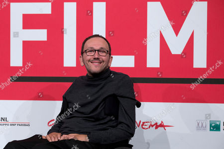 Mirko Locatelli Director Mirko Locatelli poses for photographers during the photo call for the movie 'I corpi estranei', at the 8th edition of the Rome International Film Festival, in Rome