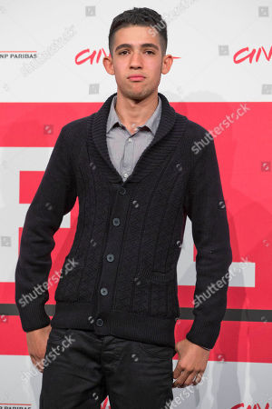 Jaouher Brahim Actor Jaouher Brahim poses for photographers during the photo call for the movie 'I corpi estranei', at the 8th edition of the Rome International Film Festival, in Rome