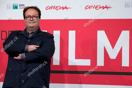 Carlo Carlei Director Carlo Carlei poses during the photo call of the movie 'Romeo and Juliet', at the 8th edition of the Rome International Film Festival, in Rome