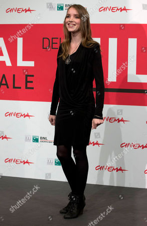 Maja Dybboe Actress Maja Dybboe poses during the photo call of the movie 'Sorrow and Joy', at the 8th edition of the Rome International Film Festival, in Rome