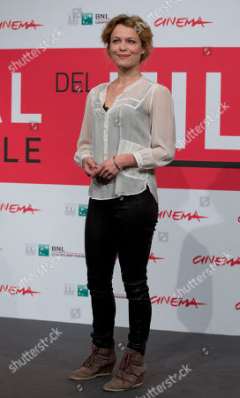 Helle Fagralid Actress Helle Fagralid poses during the photo call of the movie 'Sorrow and Joy', at the 8th edition of the Rome International Film Festival, in Rome