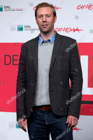 Jakob Cedergren Actor Jakob Cedergren poses during the photo call of the movie 'Sorrow and Joy', at the 8th edition of the Rome International Film Festival, in Rome