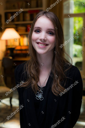 Stock Picture of Maja Dybboe Young actress Maja Dybboe poses for portraits at the 8th edition of the Rome International Film Festival in Rome, . Dybboe is presenting her latest movie 'Sorrow and joy