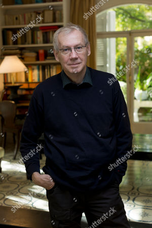 Stock Picture of Nils Malmros Director Nils Malmros poses for portraits at the 8th edition of the Rome International Film Festival in Rome, . Malmros is presenting his latest movie 'Sorrow and joy
