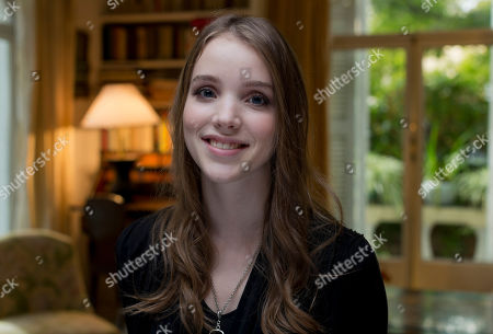 Stock Image of Maja Dybboe Young actress Maja Dybboe poses for portraits at the 8th edition of the Rome International Film Festival in Rome, . Dybboe is presenting her latest movie 'Sorrow and joy