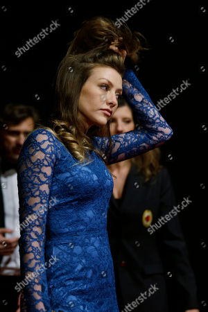 Eleonora Berlusconi arrives to attend the 'Foundation Milan', 10 years anniversary party in Milan, Italy, . Milan Foundation is a public charity that is tied to the Milan Group's wider context of responsibility and sustainability
