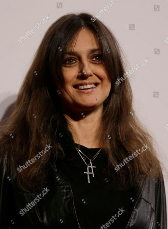Stock Picture of Rosita Celentano arrives to attend the 'Foundation Milan', 10 years anniversary party in Milan, Italy, . Milan Foundation is a public charity that is tied to the Milan Group's wider context of responsibility and sustainability