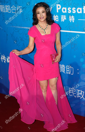 Stock Picture of Liu Xiaoqing Chinese actress Liu Xiaoqing arrives at the 10th Huading Awards ceremony in Macau
