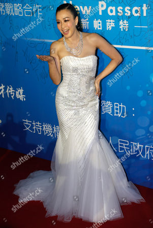 Stock Image of Christy Chung Canadian actress Christy Chung arrives at the 10th Huading Awards ceremony in Macau