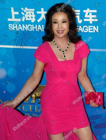 Stock Photo of Liu Xiaoqing Chinese actress Liu Xiaoqing arrives at the 10th Huading Awards ceremony in Macau