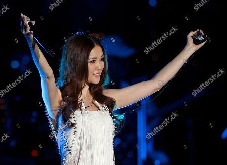 Kay Tse Hong Kong singer Kay Tse performs during the 13th Global Chinese Music Awards in Kuala Lumpur, Malaysia