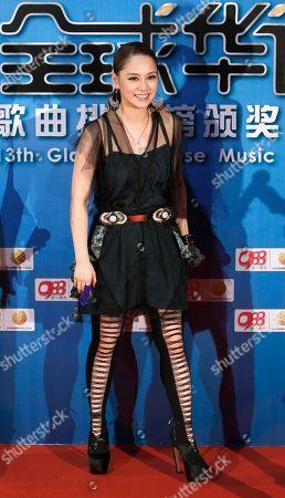 Gillian Chung Hong Kong singer Gillian Chung arrives on the red carpet at the 13th Global Chinese Music Awards in Kuala Lumpur, Malaysia