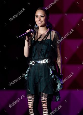 Gillian Chung Hong Kong singer Gillian Chung performs during the 13th Global Chinese Music Awards in Kuala Lumpur, Malaysia