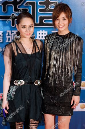 Gillian Chung, Charlene Choi Hong Kong singers Gillian Chung, left, and Charlene Choi pose for photographers on the red carpet at the 13th Global Chinese Music Awards in Kuala Lumpur, Malaysia