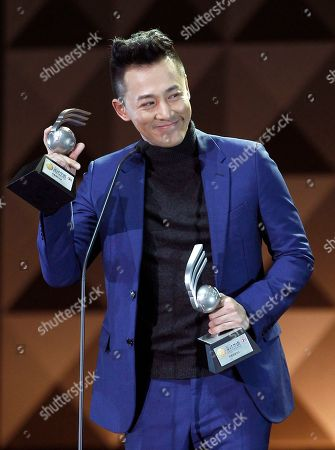Raymond Lam Hong Kong singer Raymond Lam smiles after receiving the Media Recommendation Award, during the 13th Global Chinese Music Awards in Kuala Lumpur, Malaysia