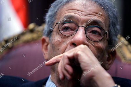 Amr Moussa Amr Moussa, the chairman of Egypt's 50-member panel tasked with amending its Islamist-drafted constitution, talks during an interview with The Associated Press at the Shoura Council in Cairo, Egypt, . Egypt's veteran diplomat and liberal politician Moussa said a constitution drafted by a 50-member panel he chaired will offer unprecedented guarantees for democracy, individual freedoms and gender equality