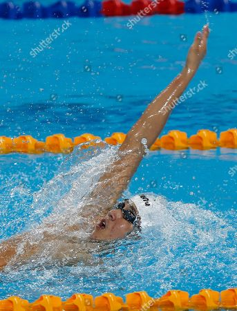 Quah Zhang Wen Singapore's Quah Zhang Wen competes in the men's 400-meter individual medley during the 27th Southeast Asian (SEA) Games in Naypyitaw, Myanmar