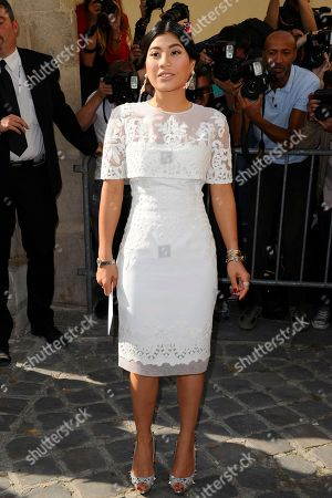 Princess Siriwanwaree Nareerat Of Thailand Princess Siriwanwaree Nareerat Of Thailand arrives to attend Christian Dior's ready-to-wear Spring/Summer 2014 fashion collection, presented in Paris
