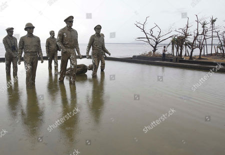 Editorial image of Philippines Typhoon, Tacloban, Philippines