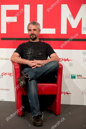 Michael Rowe Director Michael Rowe poses during a photo call for the movie 'Manto Acuifero' at the 8th edition of the Rome International Film Festival in Rome