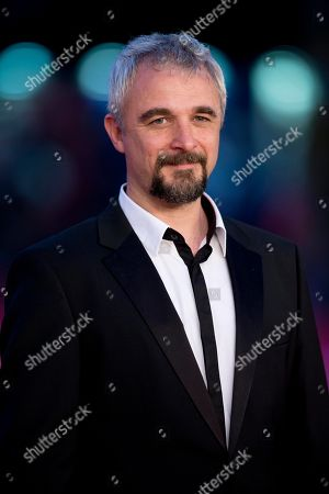 Michael Rowe Director Michael Rowe poses on the red carpet as he arrives for the screening of the movie 'Manto Acuifero' at the 8th edition of the Rome International Film Festival in Rome