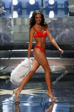 Stock Picture of Monic Perez Miss Puerto Rico Monic Perez participates in the 2013 Miss Universe pageant final in Moscow, Russia, on