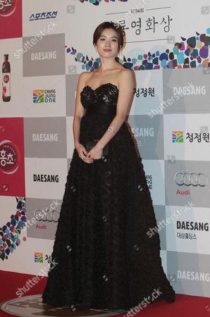 Han Hyo-joo South Korean actress Han Hyo-joo poses during the Blue Dragon Awards in Seoul, South Korea, . The award is a major film and art awards ceremony in South Korea