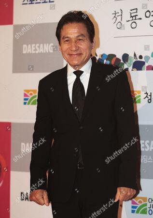 Ahn Sung-ki South Korean actor Ahn Sung-ki poses during the Blue Dragon Awards in Seoul, South Korea, . The award is a major film and art awards ceremony in South Korea