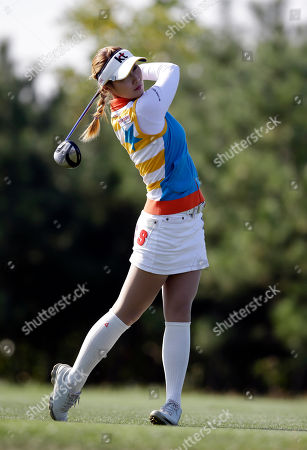 Editorial image of South Korea Golf LPGA, Incheon, South Korea