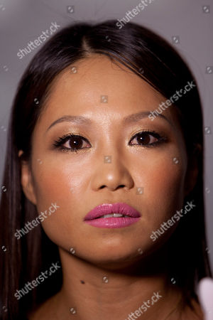 Stock Photo of Usun Yoon South Korean actress and reporter Usun Yoon during the GQ Men Of The Year Award 2013 at the Palace Hotel on November in Madrid, Spain