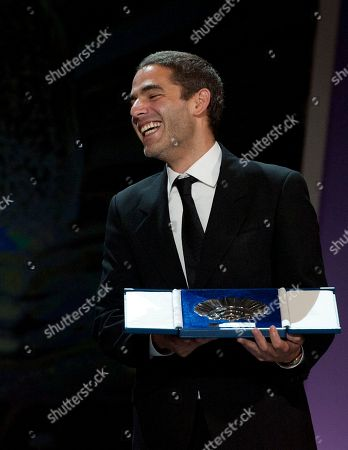 Stock Image of Fernando Eimbcke Mexican film director, Fernando Eimbcke, after received the Silver Shell for the best director with his film ''Club Sandwich'', for the 61st San Sebastian Film Festival, in San Sebastian, northern Spain