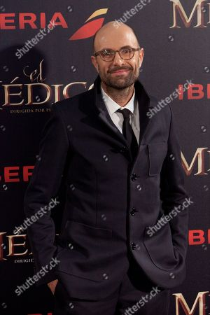 Philipp Stolzl German Director Philipp Stolzl poses for the photographers during the premiere of 'The Physician' in Madrid, Spain